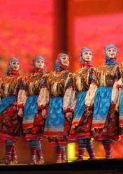 Балет Кубанских казаков и ансамбль «Вайнах»