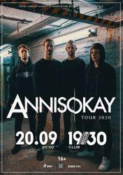 Концерт Annisokay (Germany) в Москве