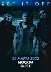 Концерт Set it Off в Москве