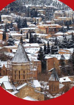 Рождество в Грузии. Тбилисо. Грузинское многоголосие, орган и оркестр гусляров