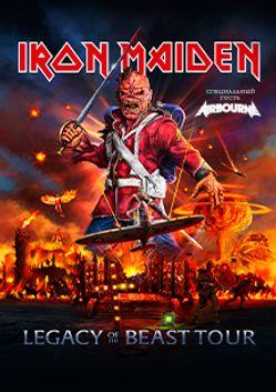 IRON MAIDEN. Legacy Of The Beast Tour