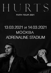 HURTS. FAITH TOUR 2021